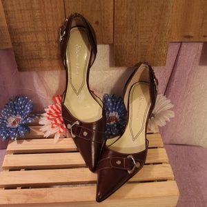 Anne Klein Makon Point Toe Pump Heels Shoes